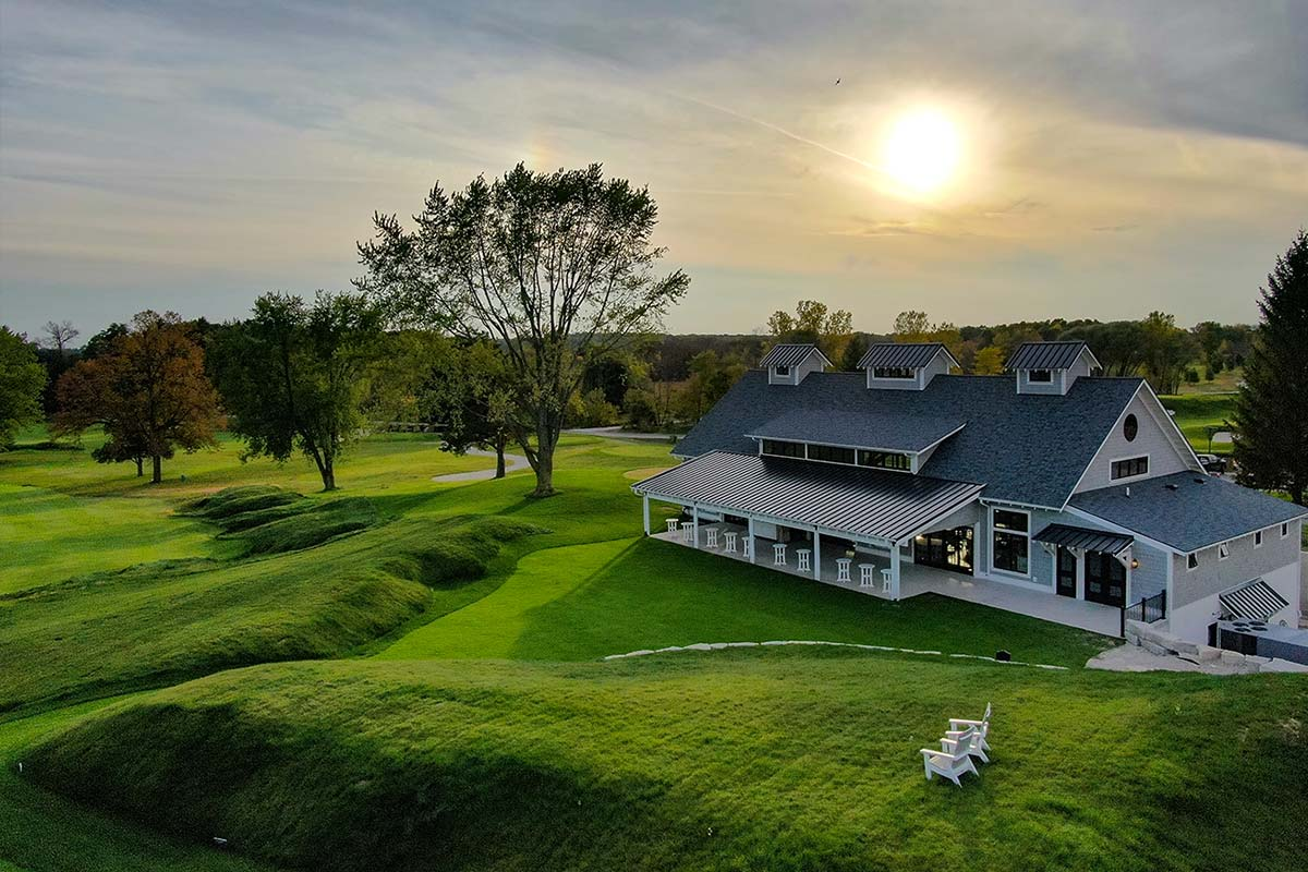 Club at Lac La Belle golf course carriage house